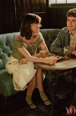 DAISY EDGAR-JONES for Vogue Magazine, UK February 2020