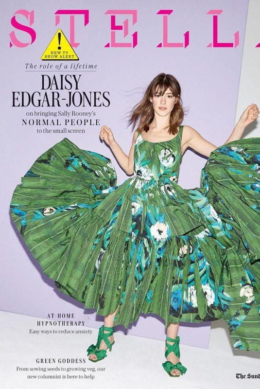 DAISY EDGAR-JONES in Stella Magazine, April 2020