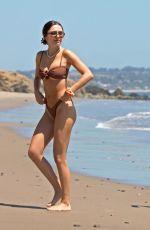 DELILAH and AMELIA HAMLIN in Bikinis at a Beach in Malibu 05/21/2020