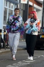 DUA LIPA and Anwar Hadid  Out and About in London 05/28/2020