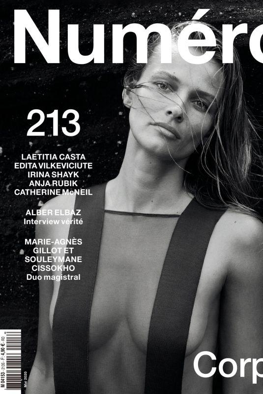 EDITA VILKEVICIUTE in Numero Magazine, May 2020