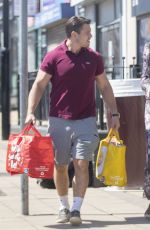 ELEANOR TOMLINSON and Will Owen Out Shopping in Coventry 05/19/2020