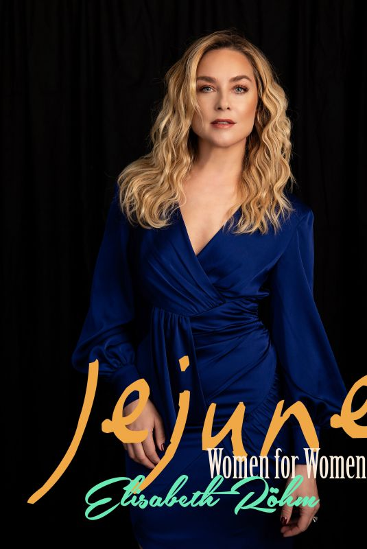 ELISABETH ROHM in Jejune Magazine, March 2020
