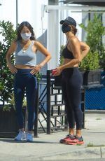 ELISABETTA CANALIS Out with a Friend in West Hollywood 05/26/2020