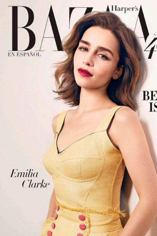 EMILIA CLARKE in Harper's Bazaar Magazine, Mexico June 2020