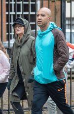 EMMA BUNTON and Jade Jones Out in London 05/12/2020