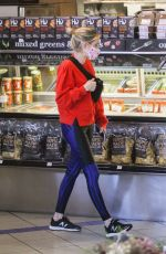 EMMA ROBERTS Shopping at Erewhon Market in West Hollywood 05/22/2020