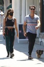 EMMA SLATER and Sasha Farber Out in Los Angeles 05/27/2020
