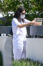 EMMY ROSSUM Out and About in Los Angeles 05/21/2020