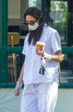 EMMY ROSSUM Out for Coffee in Malibu 05/12/2020