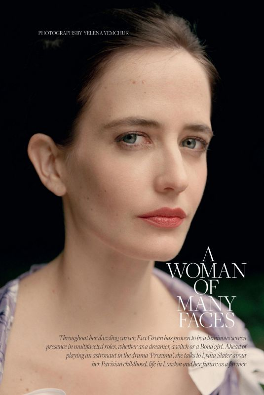 EVA GREEN in Town & Country Magazine, UK Summer 2020