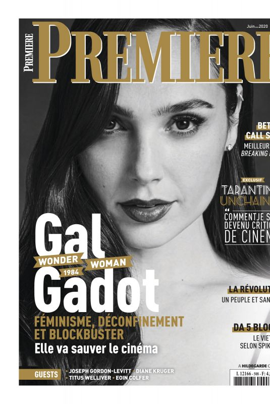 GAL GADOT in Premiere Magazine, France June 2020