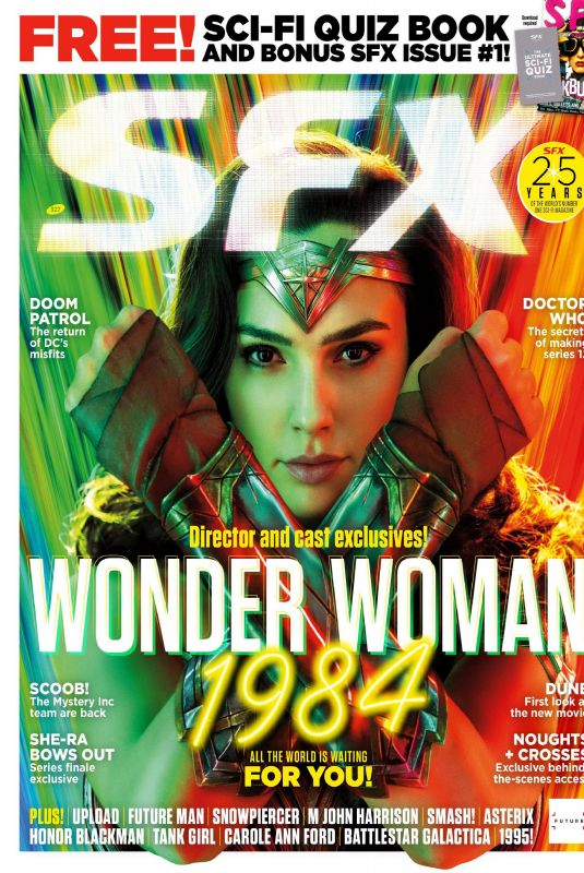 GAL GADOT in SFX Magazine, June 2020