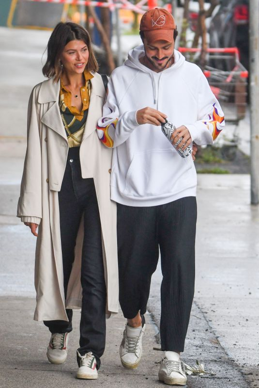 GEORGIA FOWLER and Nathan Dalah Out in Sydney 05/15/2020