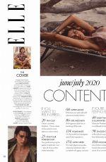 GEORGIA FOWLER in Elle Magazine, Australia June 2020