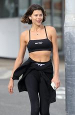GEORGIA FOWLER Out and About at Bondi Beach in Sydney 05/13/2020