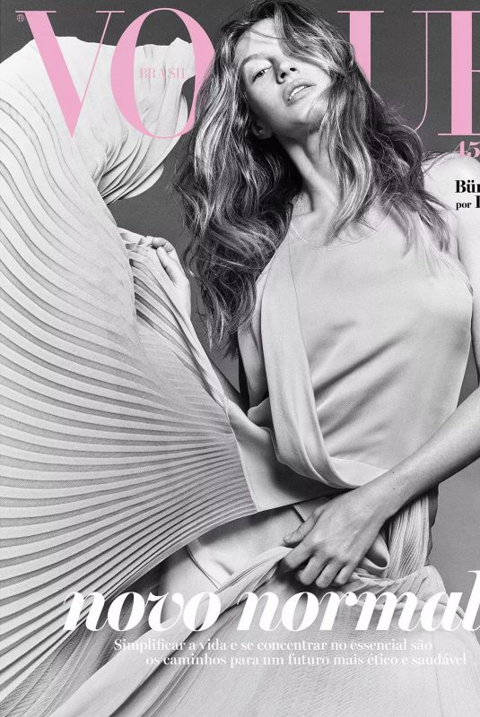 GISELE BUNDCHEN for Vogue Magazine, Brazil May 2020