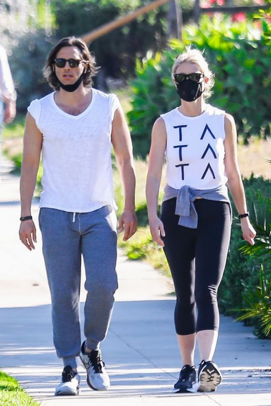 GWYNETH PALTROW and Brad Falchuk Out in Pacific Palisades 05/05/2020