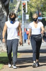 GWYNETH PALTROW and Brad Falchuk Out in West Hollywood 05/17/2020