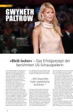GWYNETH PALTROW in Founders Magazine, Germany 2020