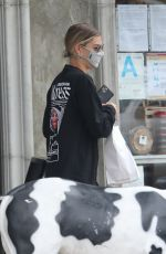 HAILEY BIEBER at Backyard Bowls in West Hollywood 05/29/2020