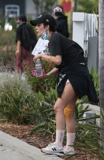 HALSEY at Black Lives Matter Rally in Los Angeles 05/30/2020