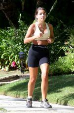 HANNAH ANN SLUSS Out Running in Los Angeles 05/07/2020