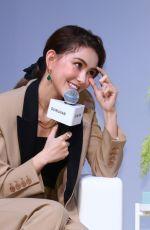 HANNAH QUINLIVAN Promotes Her Contact Lens Brand Quinlivan in Taipei 05/27/2020