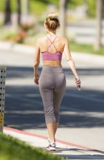 HAYLEY ROBERTS HASSELHOFF Out Hiking in Calabasas 05/21/2020