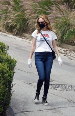 HEATHER GRAHAM Out and About in Los Angeles 05/13/2020