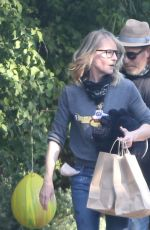 HELEN HUNT and Matthew Carnahan Out in Brentwood 05/13/2020