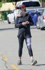HELEN HUNT Out Hiking in Brentwood 05/21/2020
