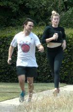 IRELAND BALDWIN Out Jogging in Los Angeles 05/30/2020
