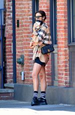 IRINA SHAYK Out and About in New York 05/26/2020