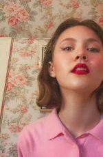 IRIS APATOW - Facetime Shoot, May 2020