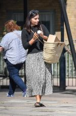JENNA LOUISE COLEMAN Heading to Post Office in London 05/18/2020