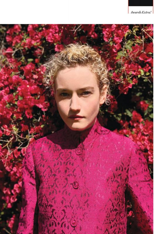 JULIA GARNER in Vanity Fair Magazine, UK June 2020