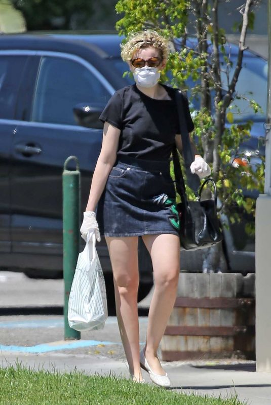 JULIA GARNER Out and About in Burbank 04/28/2020