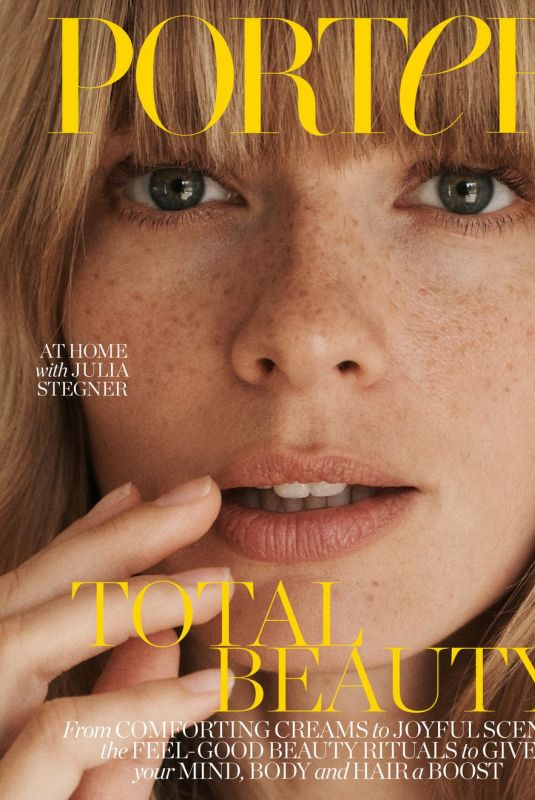 JULIA STEGNER in The Edit by Net-a-porter, May 2020