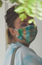 JULIANNE HOUGH Arrives at Her Mother in Los Angeles 05/29/2020