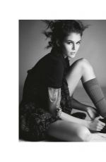 KAIA GERBER in Vogue Magazine, Italy May 2020