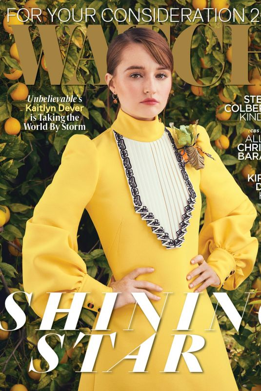 KAITLYN DEVER in Watch Magazine, May/June 2020