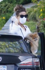 KATE BECKINSALE and Goody Grace Out in Pacific Palisades 05/12/2020