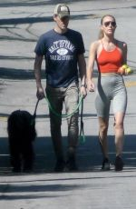 KATE BOSWORTH and Micheal Polish Out with Their Dog in Los Angeles 05/25/2020