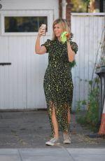 KATE GARRAWAY Outside Her Home in London 05/23/2020