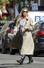 KATE MOSS Out and About in London 05/25/2020