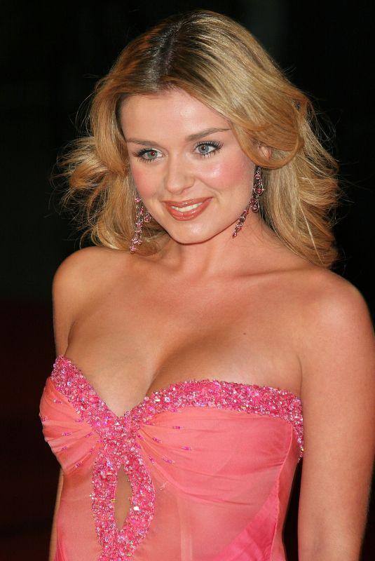 KATHERINE JENKINS at Brit Awards 2005 in London 02/09/2005