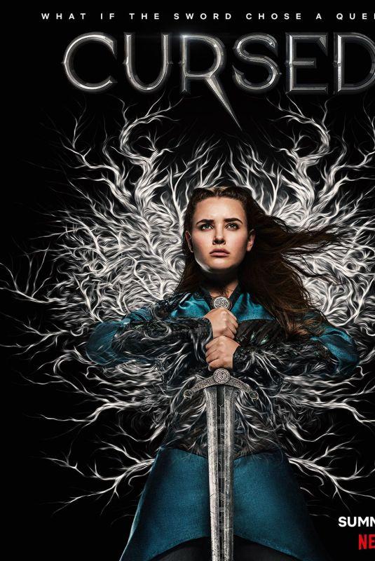 KATHERINE LANGFORS - Cursed Season 1 Poster, 2020