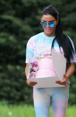 KATIE PRICE Celebrates Her 42nd Birthday in Essex 05/22/2020