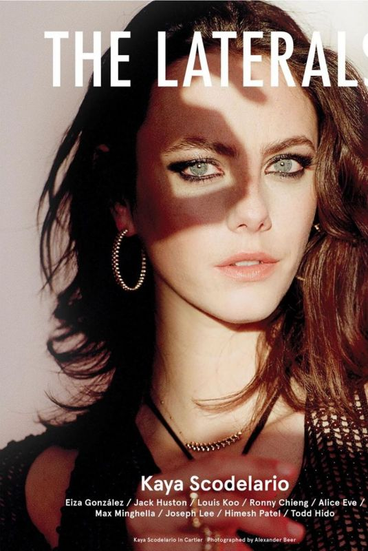 KAYA SCODELARIO for The Laterals Magazine, April 2020